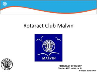 Rotaract Club Malvin
