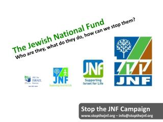 The Jewish National Fund