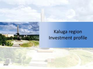 Kaluga region Investment profile