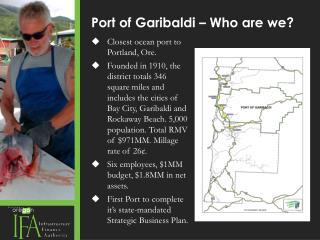 Port of Garibaldi – Who are we?
