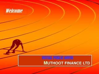 INITIAL PUBLIC OFFER M UTHOOT FINANCE LTD