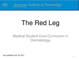 The Red Leg