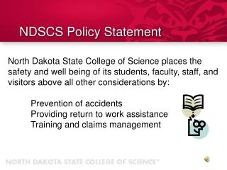 NDSCS Policy Statement