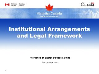 Workshop on Energy Statistics, China