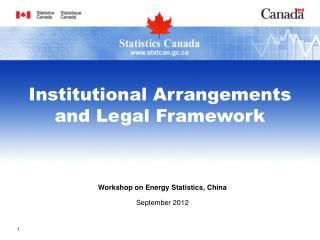 Workshop on Energy Statistics, China