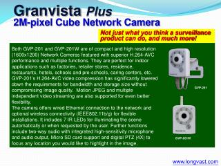 Not just what you think a surveillance product can do, and much more!
