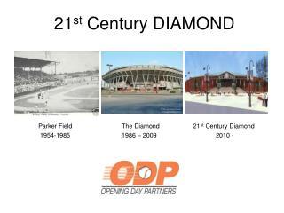 21 st  Century DIAMOND