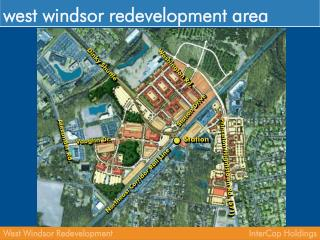 west windsor redevelopment area