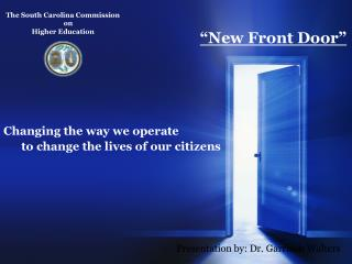 The South Carolina Commission        on  Higher Education