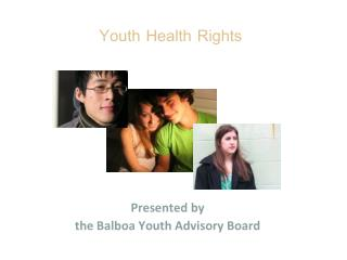 Youth Health Rights