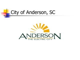 City of Anderson, SC