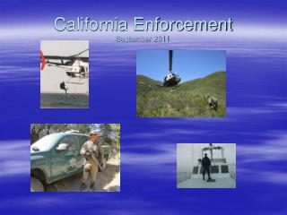 California Enforcement September 2011