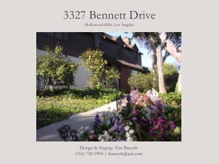 3327 Bennett Drive Hollywood Hills, Los Angeles