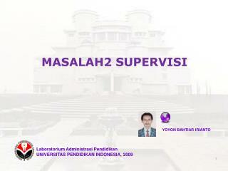 MASALAH2 SUPERVISI