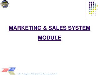 MARKETING & SALES SYSTEM MODULE