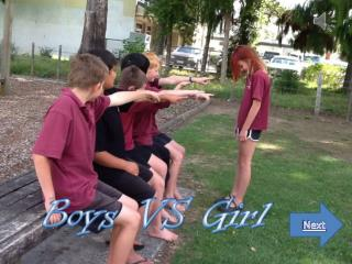 Boys VS Girl