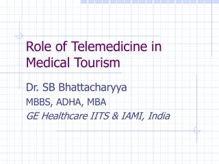 Role of Telemedicine in Medical Tourism
