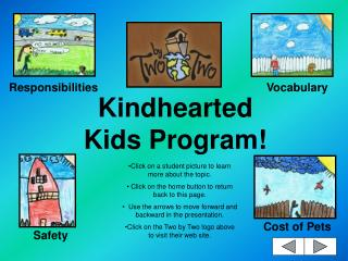 Kindhearted Kids Program!