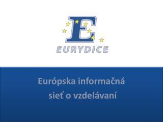 Európska informačná  sieť o vzdelávaní