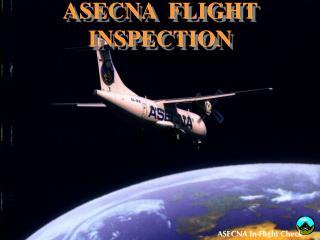 ASECNA  FLIGHT INSPECTION