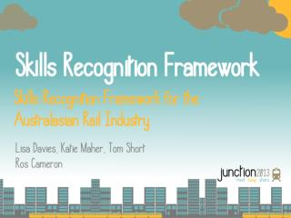 Background to Skills Recognition Project