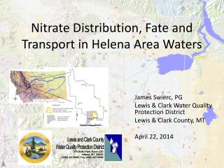 Nitrate Distribution, Fate and Transport in Helena Area Waters