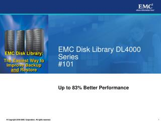 EMC Disk Library DL4000 Series #101