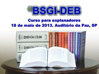 BSGI-DEB