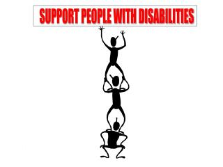 SUPPORT PEOPLE WITH DISABILITIES