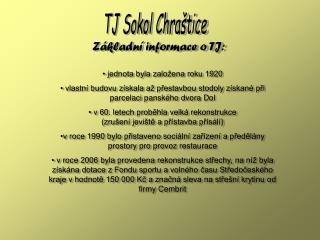 TJ Sokol Chraštice