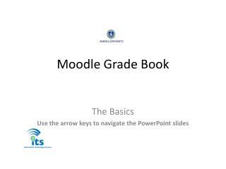 Moodle  Grade Book