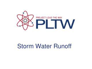 Storm Water Runoff
