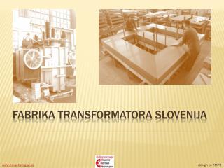 Fabrika transformatora Slovenija