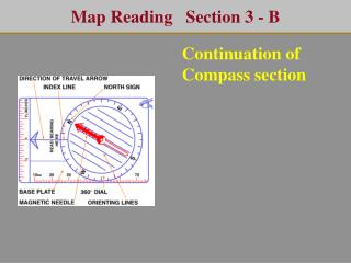 Map Reading   Section 3 - B