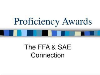 Proficiency Awards