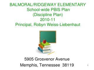 5905 Grosvenor Avenue Memphis, Tennessee  38119