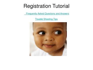 Registration Tutorial