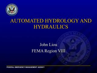 AUTOMATED HYDROLOGY AND HYDRAULICS