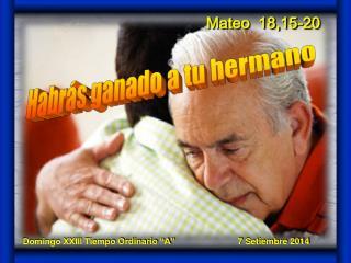 Mateo  18,15-20