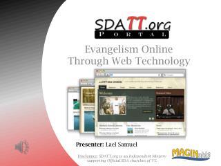 Evangelism Online Through Web Technology