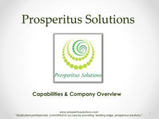 Prosperitus  Solutions