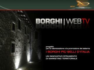 01.   | Scenario di riferimento 01.1|  il turismo nei Borghi 01.2 | il turismo nel web