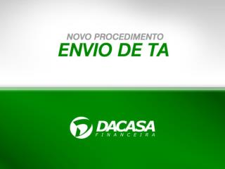 ACESSO AO DACASA NET