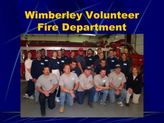 Wimberley Volunteer Fire Department