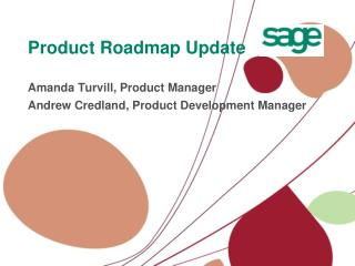 Product Roadmap Update