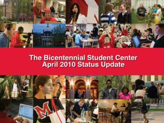Why a Student Center now?