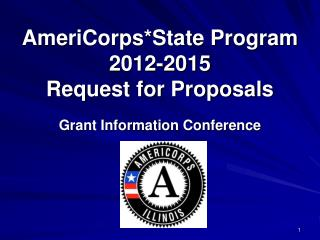 AmeriCorpsState Program 2012-2015 Request for Proposals