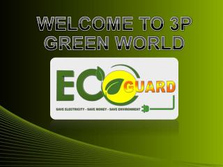 WELCOME TO 3P GREEN WORLD
