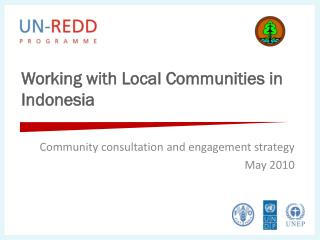 Working with Local Communities in Indonesia