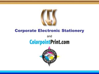 Corporate Electronic Stationery and